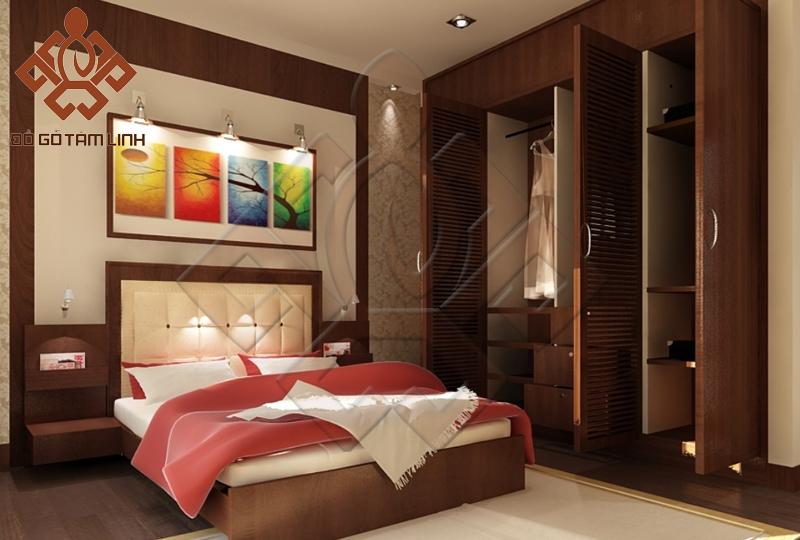 Phong cách thiết kế nội thất phòng ngủ tân cỏ điển
