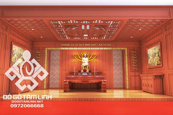 Thiết Kế Và Thi Công Phòng Tưởng Niệm Hồ Chí Minh